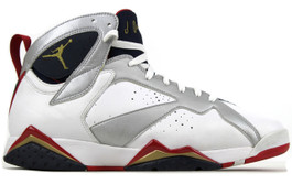 AIR JORDAN 7 RETRO OLYMPIC (2012) (SIZE 9.5)