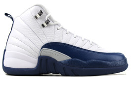 AIR JORDAN 12 RETRO BG (GS) FRENCH BLUE 2016