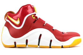 LEBRON ZOOM IV (4) FAIRFAX AWAY