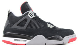 AIR JORDAN 4 RETRO BRED 2012  (SIZE 12)