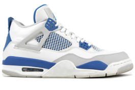 AIR JORDAN 4 RETRO MILITARY BLUE 2012 (SIZE  12)