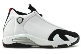 AIR JORDAN 14 RETRO BLACK TOE 2014 (SIZE 8.5)