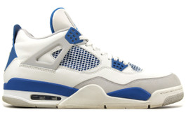 AIR JORDAN 4 RETRO MILITARY BLUE 2012  (SIZE  13)