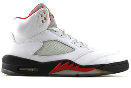 AIR JORDAN 5 RETRO FIRE RED 2013 ( SIZE  10.5)