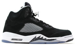 AIR JORDAN 5 RETRO OREO - (SIZE 8)