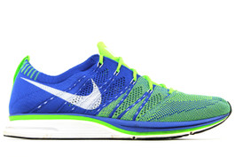 NIKE FLYKNIT TRAINER ROYAL '12 (PRE-OWNED) (SIZE 10.5)