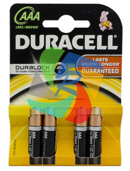Duracell AAA Basic - 10 pack (BT034)
