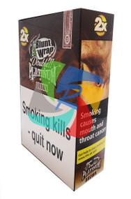 Brown (Formally Chocolate) Flavoured Double Packs Blunt Wraps - 25 pack (BL033)