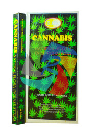 Cannabis Incense Sticks Made in India - 6 pack (IN017)