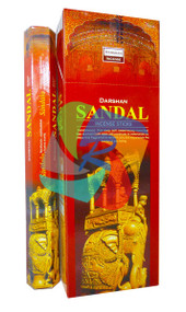 Sandal Incense Sticks Made in India - 6 pack (IN023)