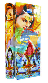 Lord Shiva Incense Sticks Made in India - 6 pack (IN024)