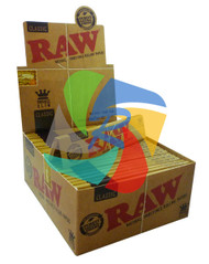 RAW KING SIZE SLIM (Pack Size: 50) (SKU: RW001)