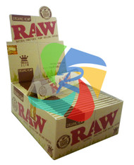 RAW ORGANIC King SIZE  SLIM (Pack Size: 50) (SKU: RW005)