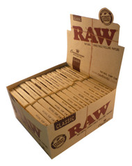 RAW CONNOISSEUR KING SIZE SLIM&TIPS (Pack Size: 24) (SKU: RW007)