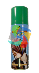 GREEN SOLID TEMPORARY HAIR COLOUR - 125ml (Pack Size: 12) (SKU: HS002)