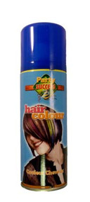 BLUE SOLID TEMPORARY HAIR COLOUR - 125ml (Pack Size: 12) (SKU: HS003)