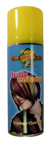YELLOW SOLID TEMPORARY HAIR COLOUR - 125ml (Pack Size: 12) (SKU: HS004)