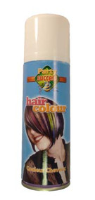 WHITE SOLID TEMPORARY HAIR COLOUR - 125ml (Pack Size: 12) (SKU: HS005)