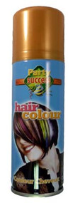 GOLD SOLID TEMPORARY HAIR COLOUR - 125ml (Pack Size: 12) (SKU: HS010)