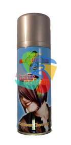 SILVER SOLID TEMPORARY HAIR COLOUR - 125ml (Pack Size: 12) (SKU: HS011)