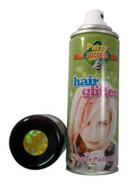 GOLD GLITTER TEMORARY HAIR COLOUR - 125ml (Pack Size: 12) (SKU: HS012)