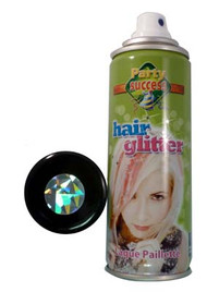 SILVER GLITTER TEMORARY HAIR COLOUR - 125ml (Pack Size: 12) (SKU: HS013)