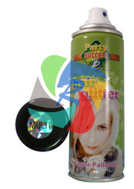 MULTI GLITTER TEMPORARY HAIR COLOUR - 125ml (Pack Size: 12) (SKU: HS014)