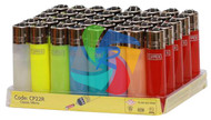 MICRO TRANSLUCENT CLIPPER LIGHTERS (Pack Size: 40) (SKU: CL027)