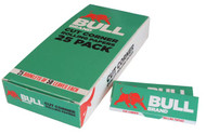 BULL BRAND GREEN ROLLING PAPERS (Pack Size: 25) (SKU: BU002)