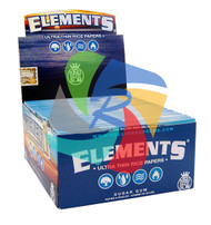 ELEMENTS KINGSIZE SLIM PAPERS (50 BOOKLETS PER BOX) (SKU: EL001)