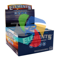 ELEMENTS CONNOISSEUR KINGSIZE SLIM PAPERS and TIPS (24 BOOKLETS PER BOX) (SKU: EL002)