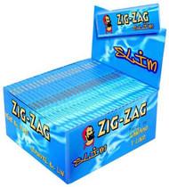 ZIG-ZAG KINGSIZE BLUE SLIM (50 BOOKLETS PER BOX) (SKU: ZI009)