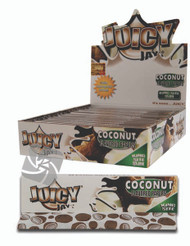 JUICY JAYS COCONUT FLAVOURED KINGSIZE PAPER (24 BOOKLETS PER BOX) (SKU: JK013)
