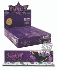 JUICY JAYS GRAPE FLAVOURED KINGSIZE PAPER (24 BOOKLETS PER BOX) (SKU: JK016)