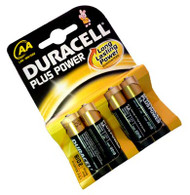 DURACELL PLUS PWR AA PACK OF 4 (Pack Size: 20) (SKU: BT008)