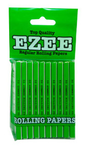 EZEE REGULAR GREEN OR RED ROLLING PAPERS MULTI PACK (BAGS)