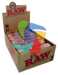 RAW 110mm HEMP PLASTIC ROLLERS PER BOX OF 12 (SKU RW024)
