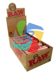 RAW 79mm HEMP PLASTIC ROLLERS 12 PER BOX (SKU: RW023)