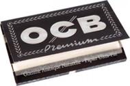 OCB PREMIUM BLACK DOUBLES ROLLING PAPERS (25 PER BOX) (SKU: OC008)