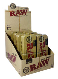 RAW Pre-Rolled 1 1/4 Cone Caddy (Pack Size: 8) (SKU: RW029)