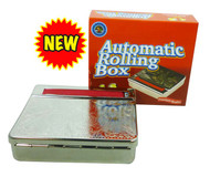 RDS - STAINLESS STEEL SCROLL PATTERNED AUTOMATIC ROLLING BOX (6 PACK) (SKU: RB003)
