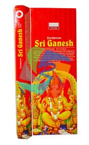Sri Ganesh Incense Sticks - 6 Pk x 20 sticks