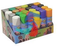ASSORTED COLOURS -  TEMPORARY HAIR COLOUR - 125ml (Pack Size: 24)
