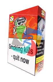 PLATINUM PEACH BLUNTS (25X2 WRAPS PER BOX) (AMBER)