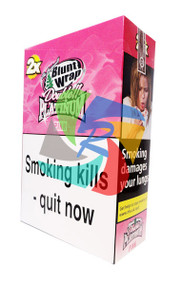 PLATINUM BUBBLE GUM BLUNTS (25X2 WRAPS PER BOX) (PINK)