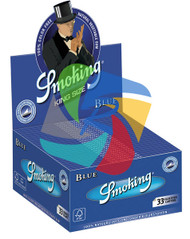 SMOKING KINGSIZE BLUE PAPER (BOX OF 50 BOOKLETS) (SKU: SM020)