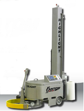Fantom robot stretch wrapping machine