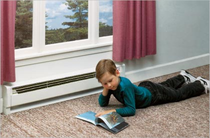baseboard radiator heater child safety