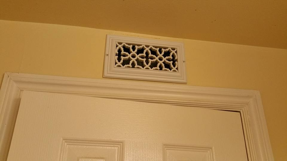 Heritage decorative vent cover for 12x6 floor register