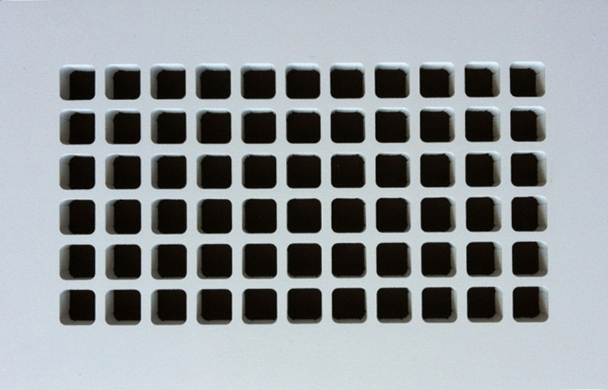square resin vent cover - Foundation Vent Covers